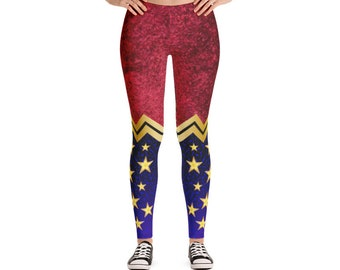 Leggings - Wonder Woman | Gift idea for Comic Book Enthusiast