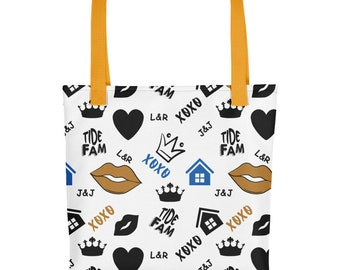 Tote bag - Tide Fam All-Over Print