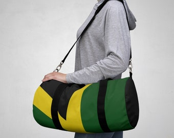 Duffle Bag - Jamaican Flag
