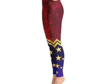Yoga Leggings - Wonder Woman