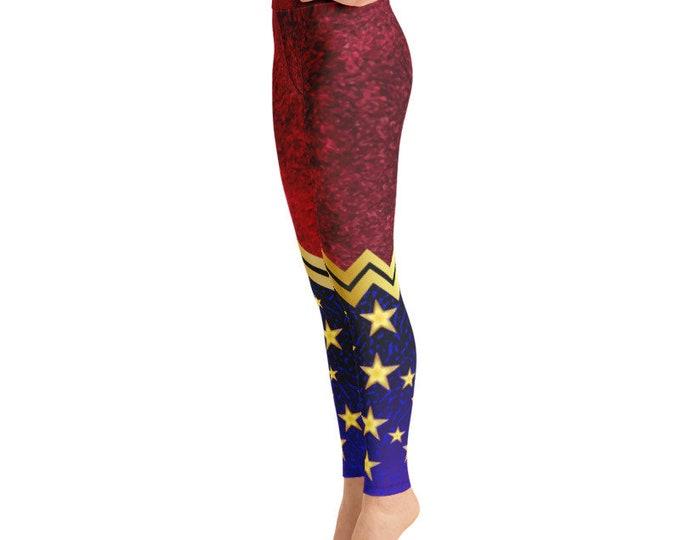 Featured listing image: Yoga Leggings - Wonder Woman