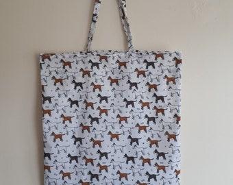 English Bull Terrier Dog Breed Tote Shopping Bag