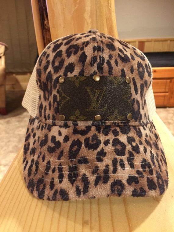 180caea3bd6 Trucker back ponytail caps  Authentic Louis Vuitton