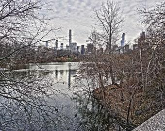 New York Print - Central Park