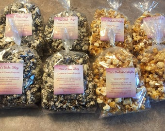 Gourmet Style Popcorn ~ Cookies & Cream Caramel Cinnmon Roll