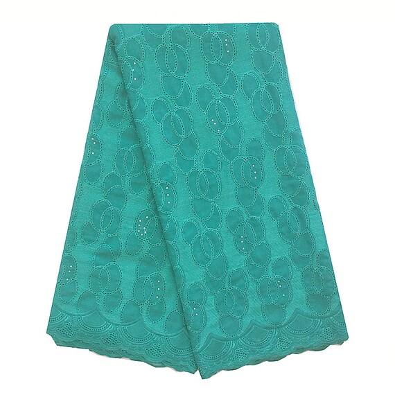 Pierres de tissu africain dentelle suisse mariée dentelle tissu 2017 Turquoise haute qualité dentelle Turquoise 2017 Bleu Chiffion broderie dentelle tissu 2018 5dc10f