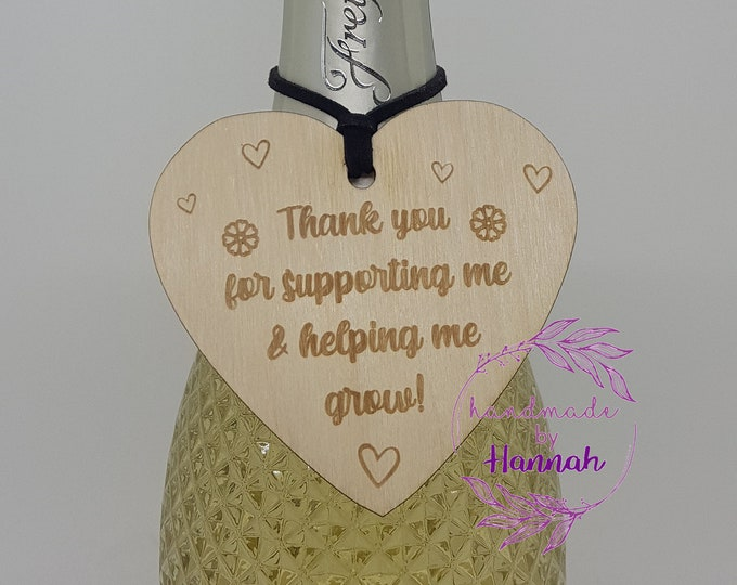 Teacher Gifts - Bottle Hearts - Create Your Own - Thank You Teacher