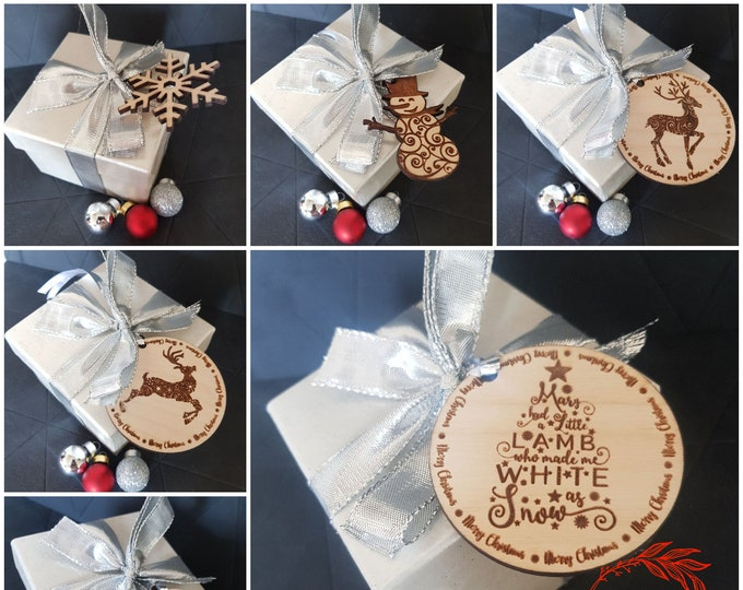 Christmas Gift Enhancers Gift Tags