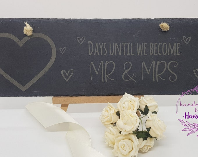 Personalised Wedding Countdown