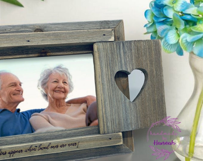 Robins Appear When Loved Ones are Near Photo Frame