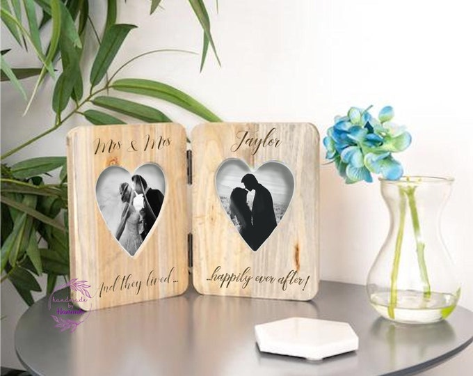 Personalised Wedding photoframe