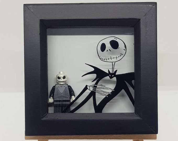 Jack Skellington Nightmare Before Christmas Mini Character Frame