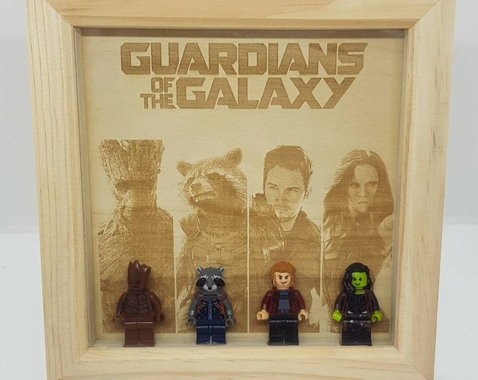 Guardians Of The Galaxy Box Frame