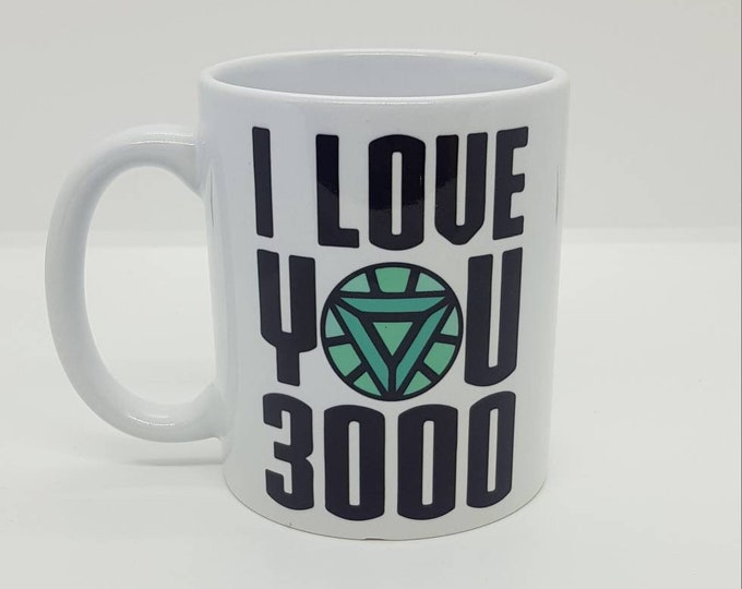 "The End Game ""I love you 3000"" mug"