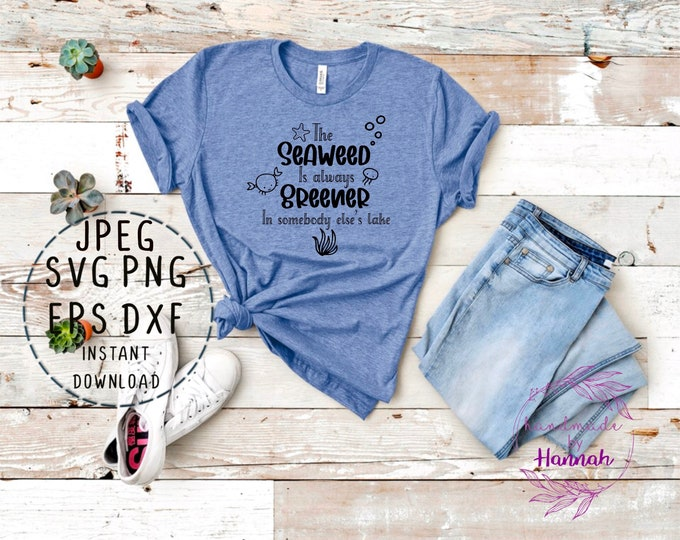 Little Mermaid Quote - Disney Character Svg - Disney Svgs - Svg Files For Cricut - Disney Quote SVG - Under the Sea SVG