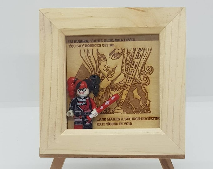 Harley Quinn Mini Character Frame