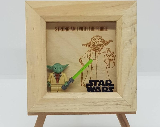 Star Wars Yoda Mini Character Frame