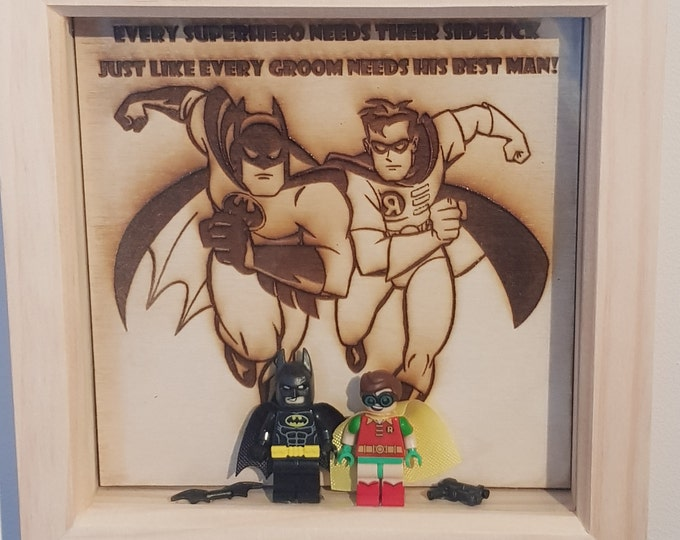 Batman & Robin Character Bestman character Box Frame
