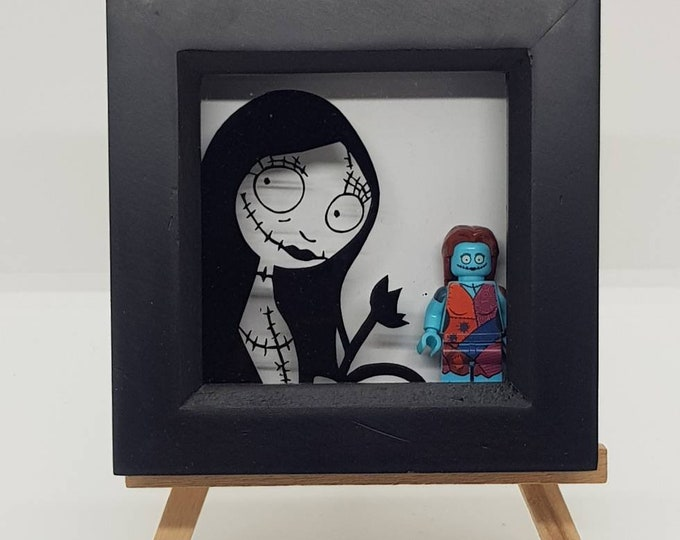 Sally Nightmare Before Christmas Mini Character Frame