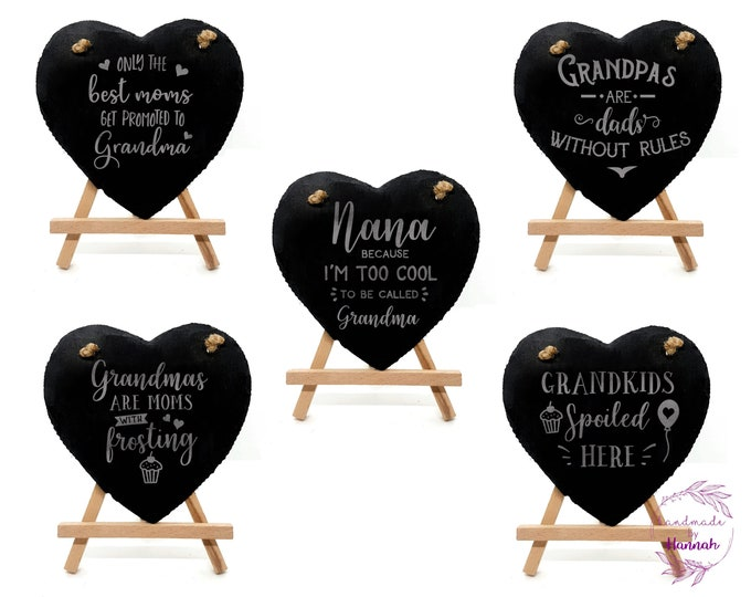 Grandparents Slate Signs