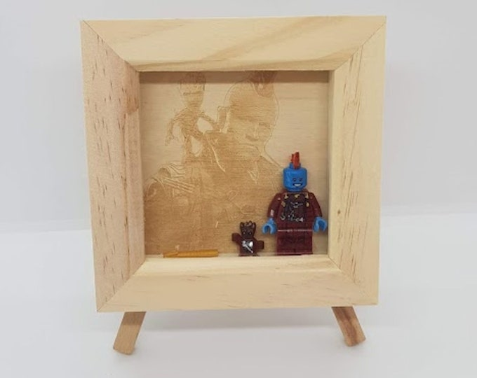 Yondu and Groot Guardians of the Galaxy Character Box Frame - Marvel Box Frame