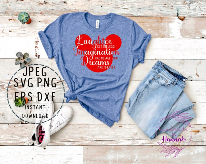 Disney Mickey Mouse Svg - Mickey Svg - Disney Quote Svg - Mickey Decal - Mickey Svg Files For Cricut - Mickey Clipart - Mickey Mouse Svg