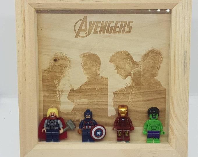 Avengers Character Box Frame