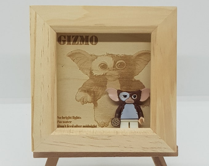 Gizmo Engraved Mini Character Frame