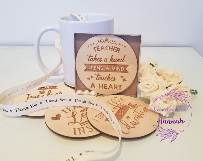 Teacher Coaster Gifts
