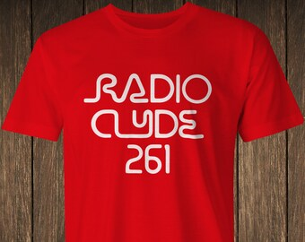 02ef4b4c2 100% Premium Cotton Radio Clyde 261 T-Shirt - as worn by Frank Zappa tee -  8 colours - Free 1st class Delivery