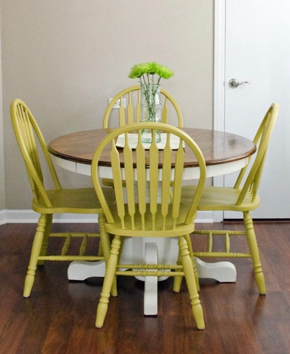 Spindle Back, Windsor Chairs, set of 4 Kitchen Chairs, Classic Chairs (have  multiple sets of these-ask about CUSTOM painting for your space)