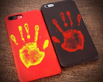 Thermal Case I iPhone Plus 6s, iPhone 6s, Iphone 7, Iphone 7s I Fiance Gift I Apple Iphones I Phone Case I FREE Shipping Worldwide I