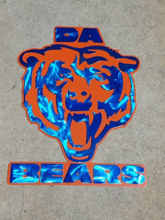 Chicago Bears metal art