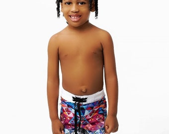 Kids Diamond Board Shorts