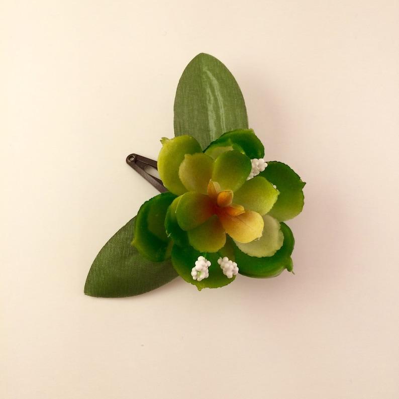 Succulent Barrette