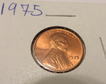 1975 lincoln penny