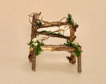 Fairy Chair, Whimsical, Decor, Miniature, Fairy Accessories