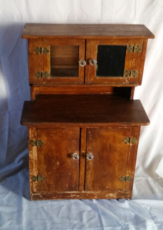 Antique Children S Play Cupboard Vintage Child S Etsy