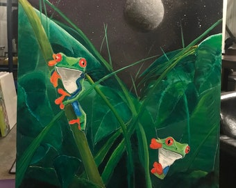 Midnight Tree Frogs