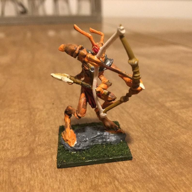 Hand Painted Thri Kreen Dungeons Dragons Miniature Etsy