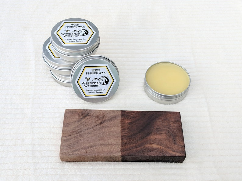 Organic Beeswax Wood Wax Finish Natural Finishing Oil Wood Etsy