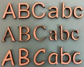 Laser Cut Numbers Letters - 200mm to 250mm