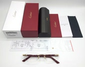 NEW Cartier Red Syracuse CT0056O Glasses