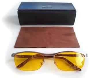 22b5a3ec11737 Cartier Titanium  R De Collection  Half Frame Sunglasses