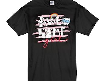 Awesome Girl - T-shirt - Cute T-shirt