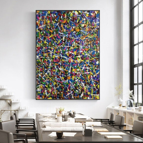 extra large wall art, oversized canvas art, original oil painting abstract,  extra large canvas art, contemporary art hand painted EM14