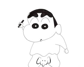 Shin Chan Etsy