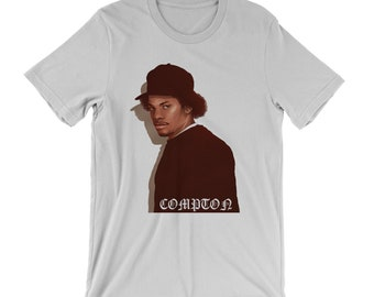 11d95223dee Eazy-E T-Shirt - Los Angeles West Coast Gangster rap record label Compton  Dr. Dre N.W.A. Boyz in the hood old school 90 s hip hop ruthless