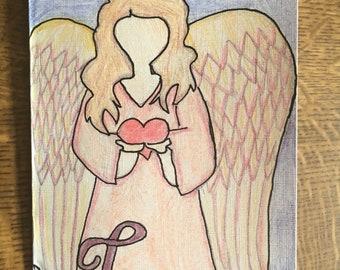 Engel der Liebeskarte