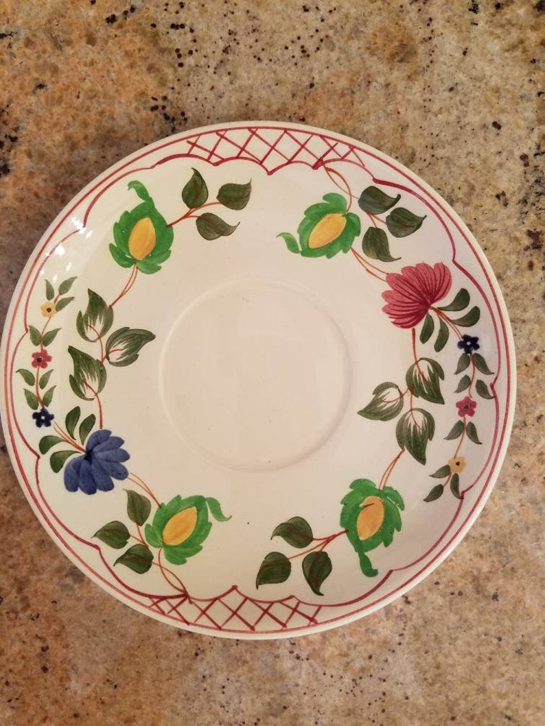 Pottery, Porcelain & Glass Antique Stunning Adams Royal Ivory Titian Ware Extremely Rare Plate 1905.